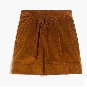 Girls, corduroy skirt Crewcuts